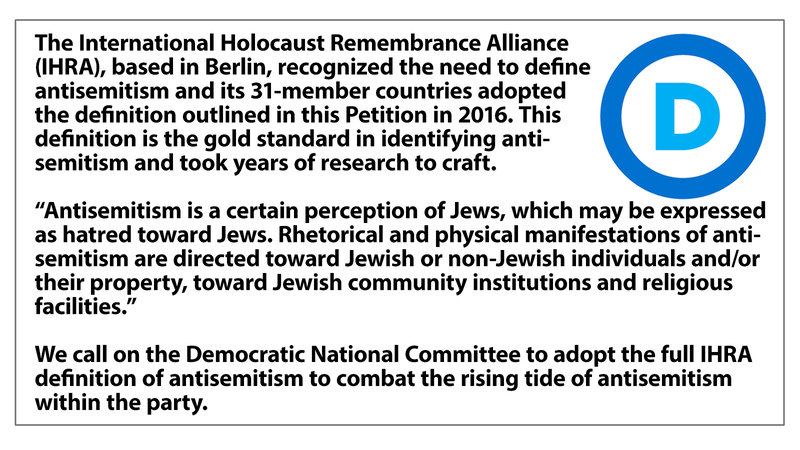 https://www.change.org/p/democratic-national-committee-democrats-say-no-to-antisemitism