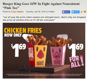 https://legalinsurrection.com/2018/07/burger-king-goes-sjw-in-fight-against-nonexistent-pink-tax/