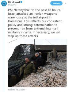 https://twitter.com/IsraeliPM/status/1084495761927294976