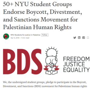 https://medium.com/@nyusjp/50-nyu-student-groups-endorse-boycott-divestment-and-sanctions-movement-for-palestinian-human-c27786ddc233
