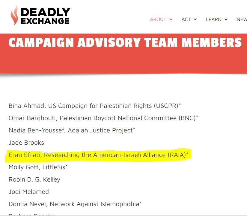 https://deadlyexchange.org/campaign-advisory-team-members/